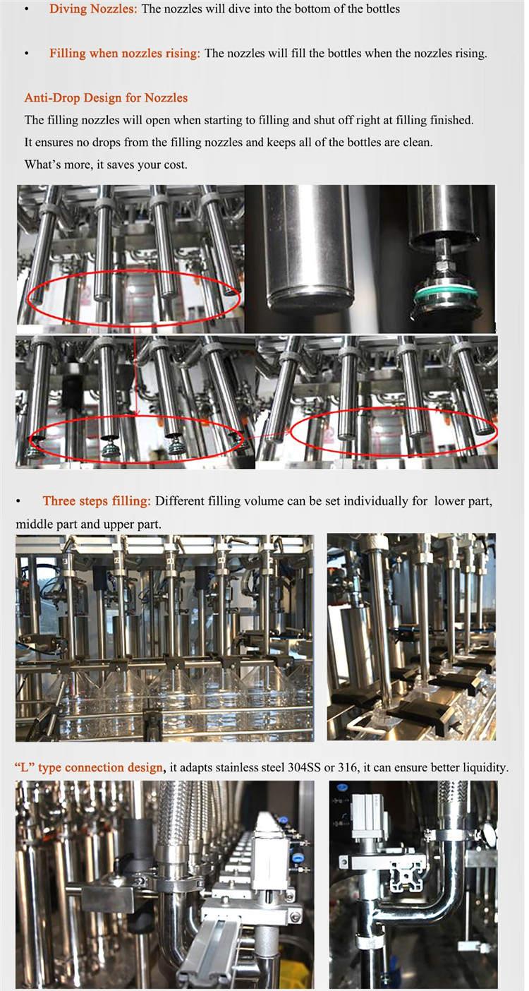 Automatische Flaschenfüllmaschine für Servomotoren 4