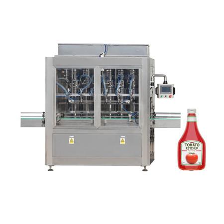 Pastenfüllmaschine für Tomatenmark, Kosmetikcreme