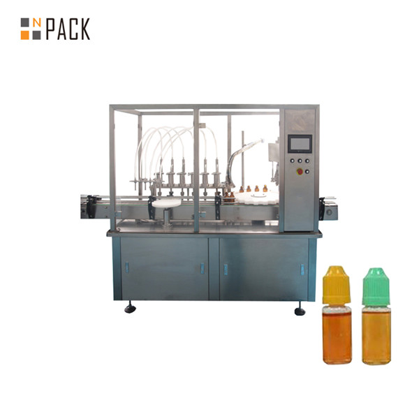 Schlauchpumpen-Flüssigkeitsfüllmaschine für kleine Fläschchenflaschen