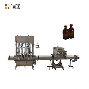 Hohe Genauigkeit Automatische Schmieröl- / Schmierölfüllmaschine