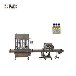 Automatische 1-5L Kolbenflasche Glas Schmieröl flüssige Füllmaschine