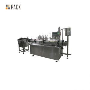 Maßgeschneiderte Etikettiermaschine für die Verschließung von Glas-Tropfflüssigkeiten für E-Zigaretten-Flüssigkeiten