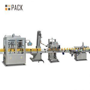 Marmeladenkolbenfüllmaschine, automatische scharfe Sauce Füllmaschine, Chili-Sauce Produktionslinie