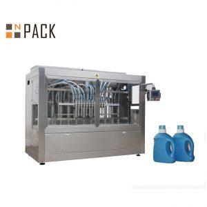 Automatische Flüssigkeit 10 Düse Senföl Flaschenverpackungsmaschine