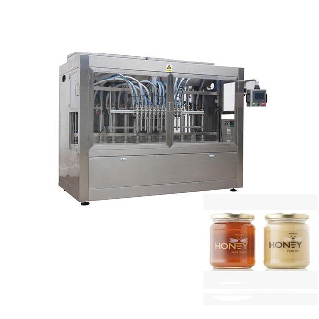 Günstige Füllverpackung Glas Honig Abfüllmaschine