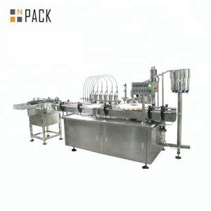 10 ml 30 ml 50 ml runde Glasflasche kosmetische ätherische Öle Abfüllmaschine