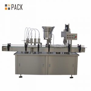 Automatische 10ml 15ml 30ml E-Liquid Augentropfen-Tropfflaschen-Verschließmaschine