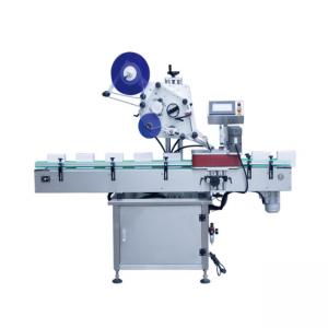 Automatische Rundbehälter-Etikettiermaschine vom vertikalen Typ
