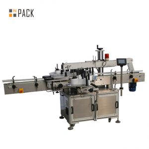 NPACK Automatische Etikettiermaschine für runde Flaschenaufkleber